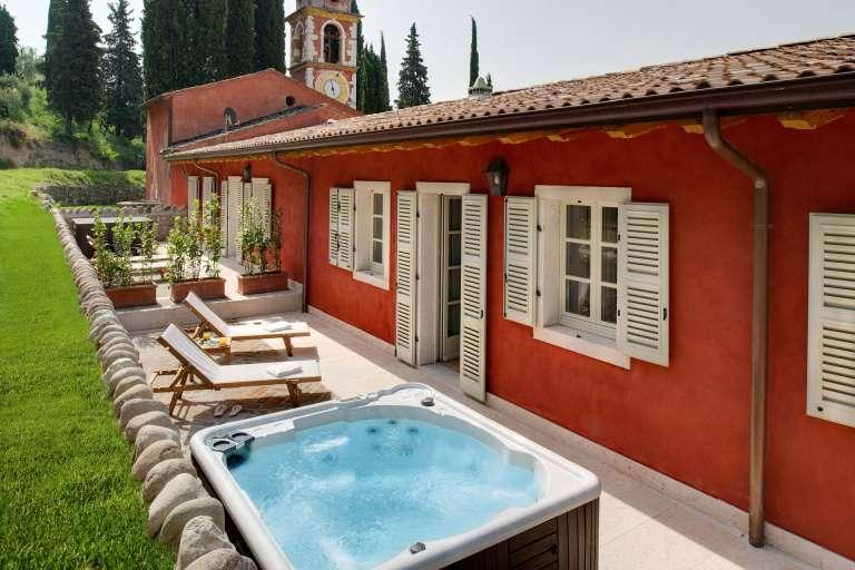 Suite mit Terrasse und Hydromassage